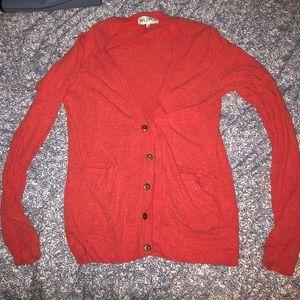 Wildfox Red Cardigan
